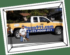 Charlotte POOP 911 Pooper Scooper owner Mark