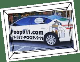 POOP 911 Pooper Scooper Service Vehicle Portland South Oregon